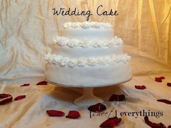 'Serena' Wedding Cake