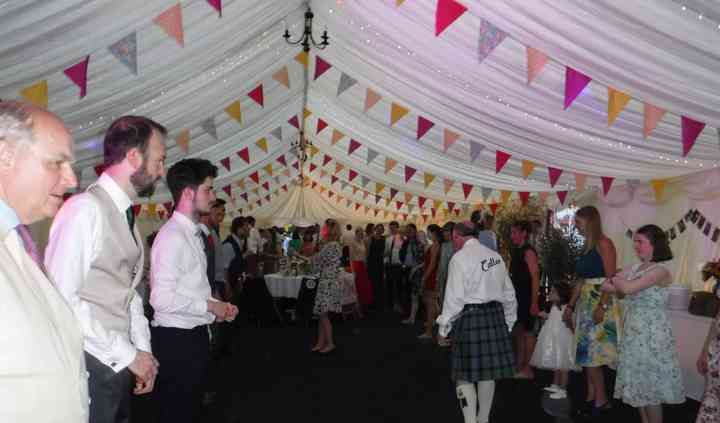 The Dancin' Digits Ceilidh Wedding Band