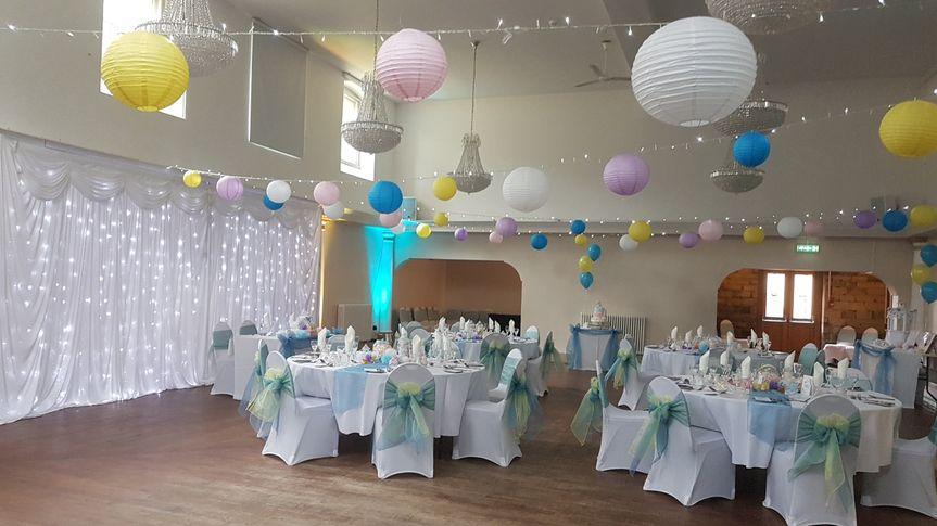 Paper Lanterns Backdrop From Glamourpuss Weddings Decorations