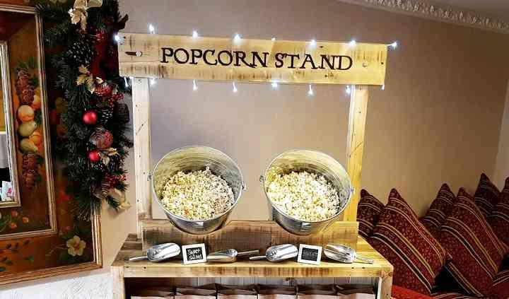 Rustic Popcorn stand