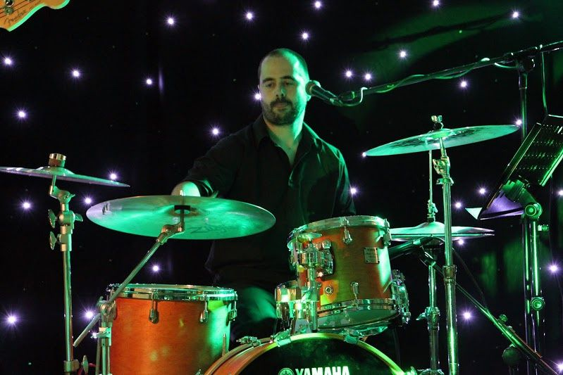 Rob Clark, drums - Entourage wedding band