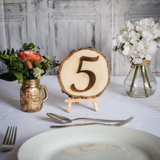 Log Slice Table Number