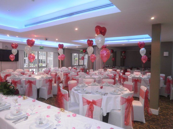 Chair Covers and ballon Decorations