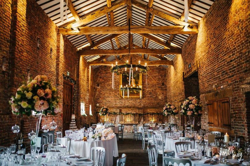 Tithe Barn decorated
