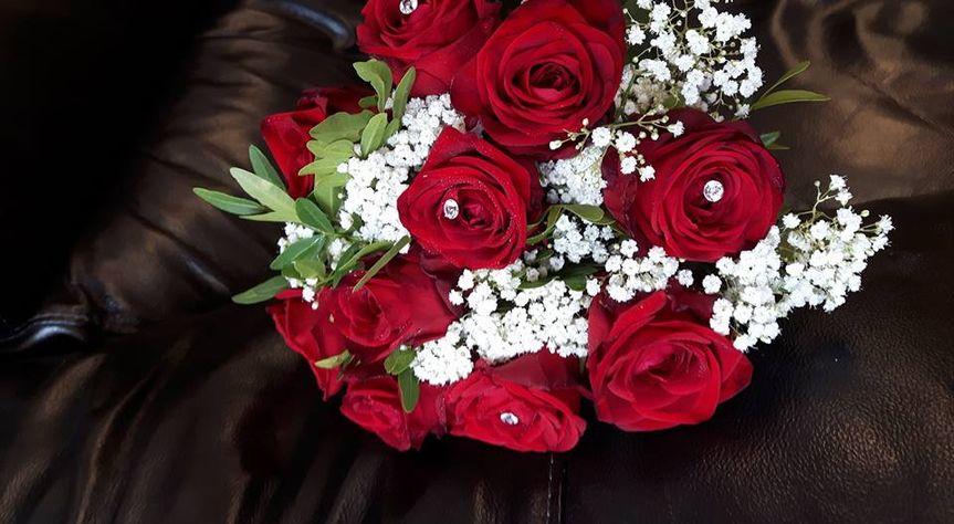 Floral Creations rose bouquet