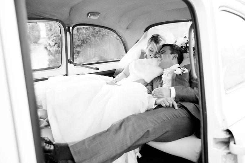 The White Wedding Taxi
