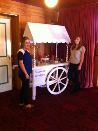 Sweet cart for a sweet 18th!
