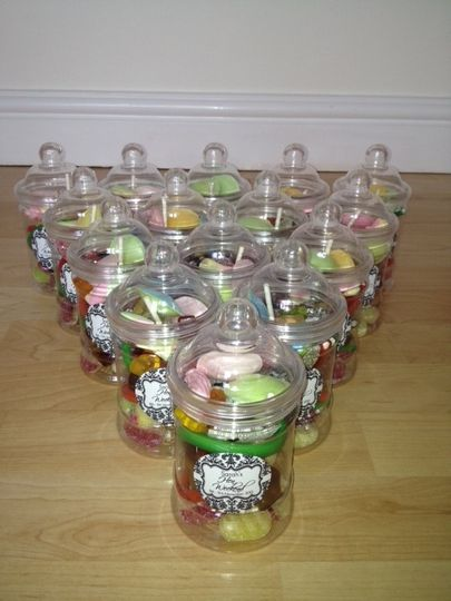 Hen party sweets for our bride