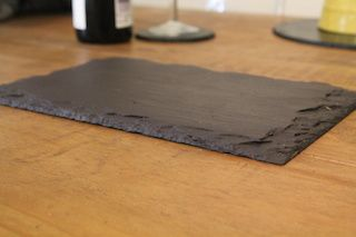 Welsh slate cheeseboard