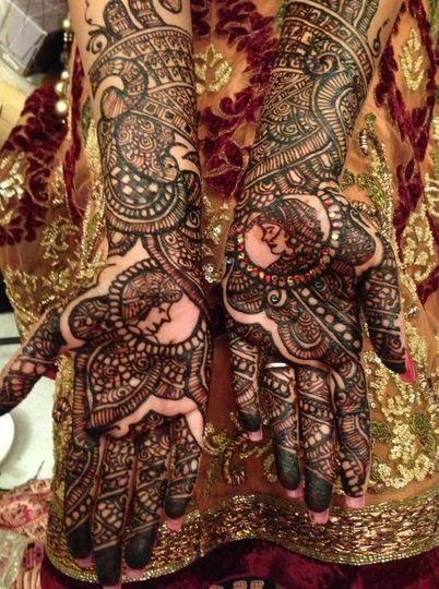 Bridal Henna/ Mehndi- Crystal