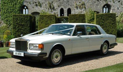 White Rolls Royce