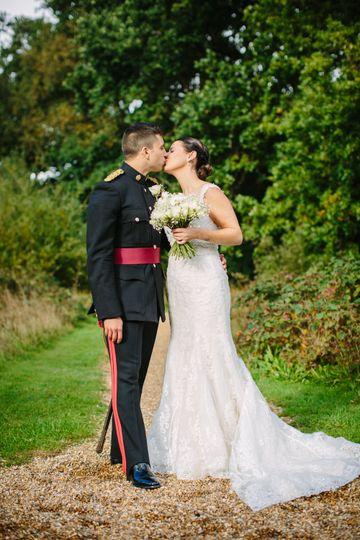 Military kiss