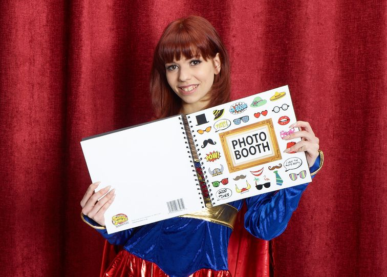 Photo booth guest books