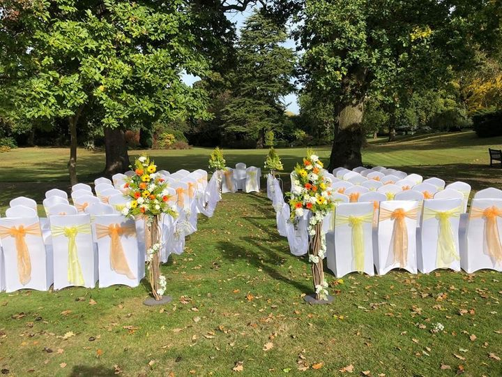A Stunning Outdoor Ceremony