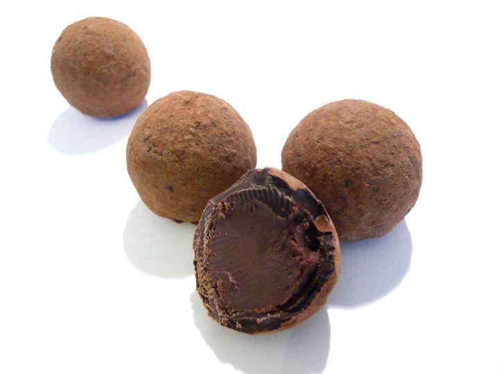 Cola truffles