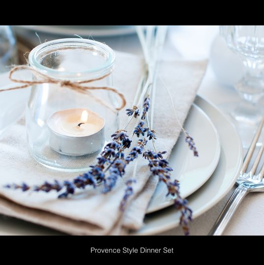 Victorie Events place setting
