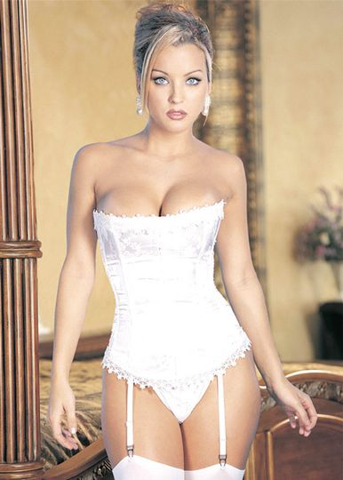 Shirley Bridal Satin Corset