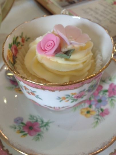 Teacup favours
