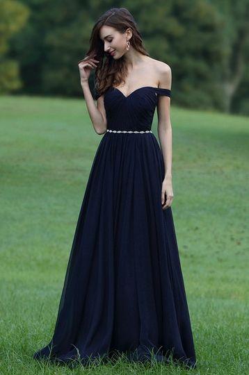 255952df10 Off shoulder prom dress from eDressit | Photo 26