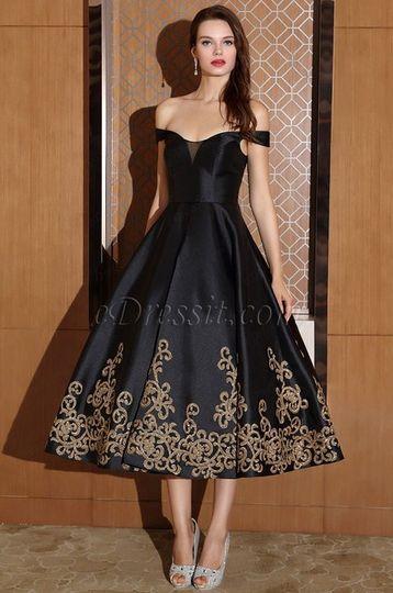 8a80dc2fd1e6 Off shoulder black dress short from eDressit | Photo 62