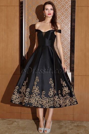 6d54e00b Off shoulder black dress short from eDressit | Photo 62