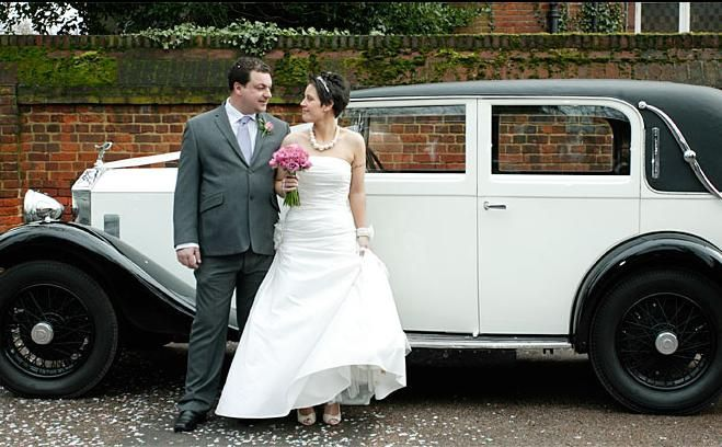 At the Langtons Registry Office, Hornchurch