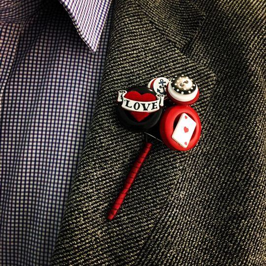Rockerbilly buttonhole