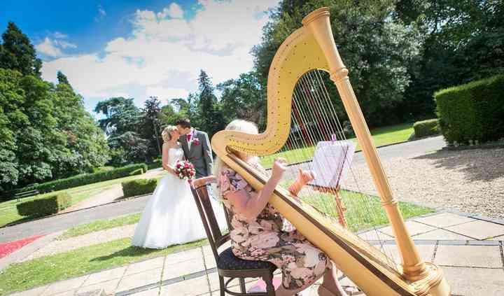 Summer wedding orton hall