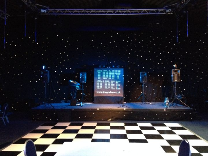 Tony O'Dee - Stage Setup