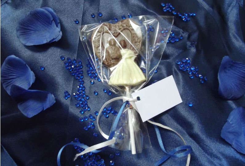 Bride&Groom Lolly