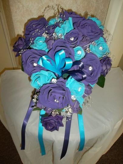 Bridal bouquet (artificial)