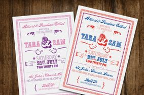 Beau wedding stationery