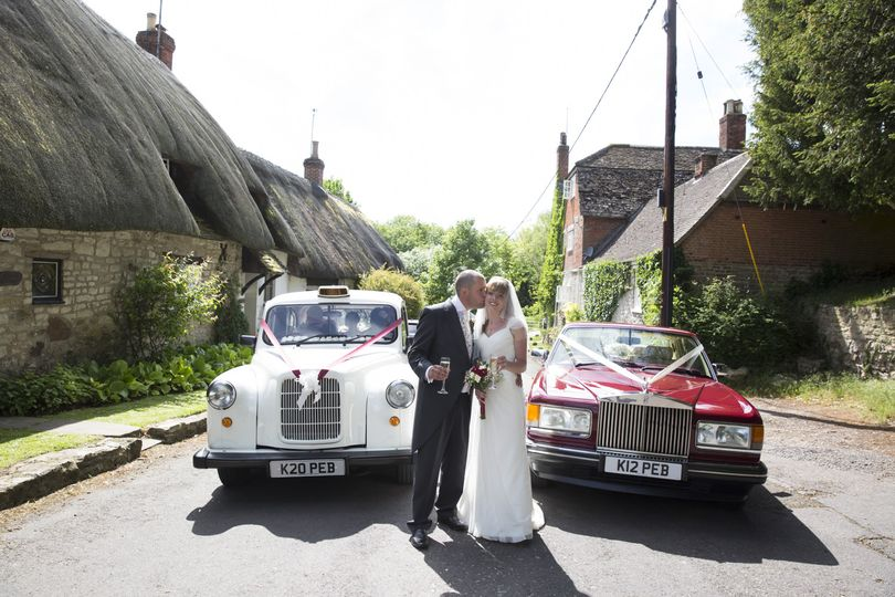 White Fairway and Rolls Royce