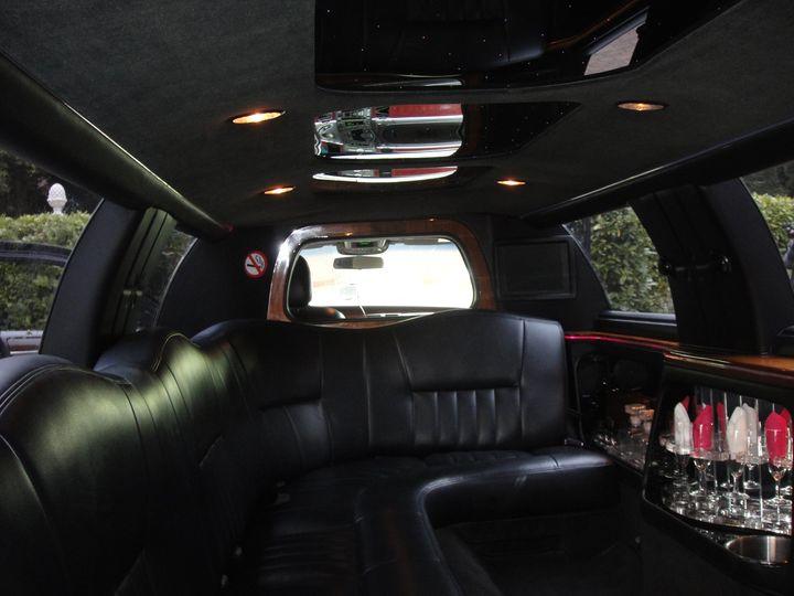 Black Limousine Interior