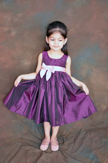 Cadbury flower girl dress