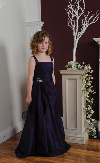 CadburyPurple bridesmaid dress