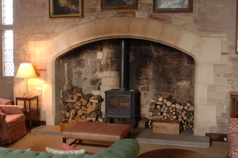 Fireplace in the Great Hall
