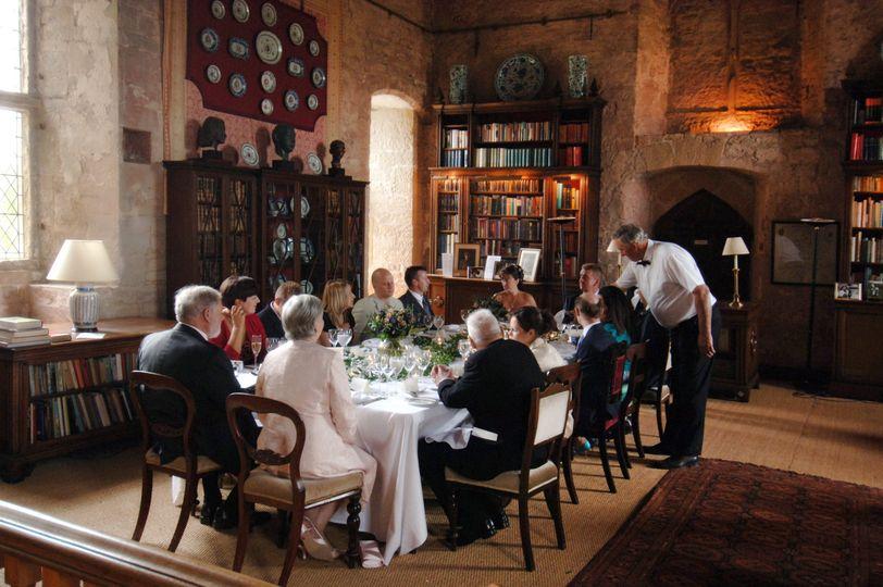 Wedding Breakfast in the Great Hall