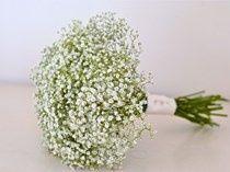 Gypsophila bridesmaids bouquet