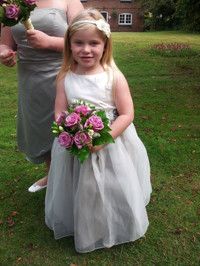Cute bridesmaid