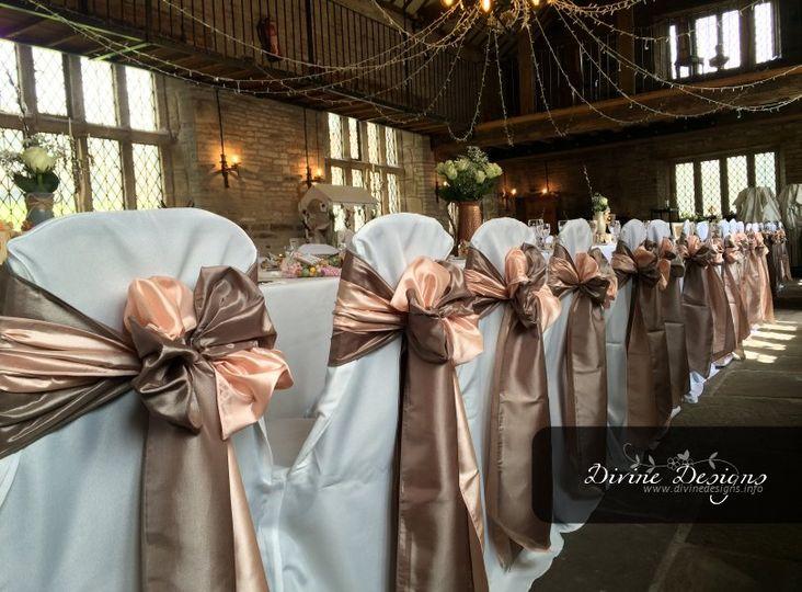 Mixed sash wedding