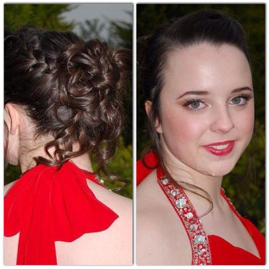 Prom Hair and Make-up