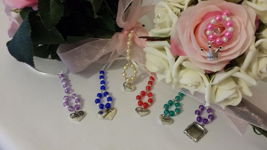 Bouquet charms