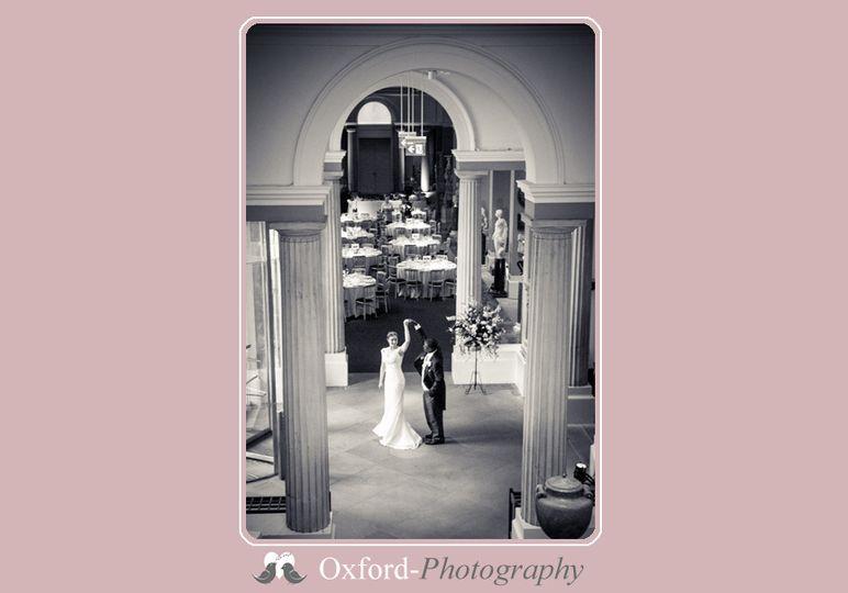 Ashmolean wedding