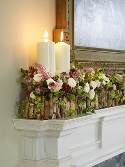Mantle Piece Arrangement