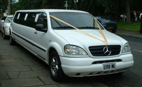 Mercedes limousines
