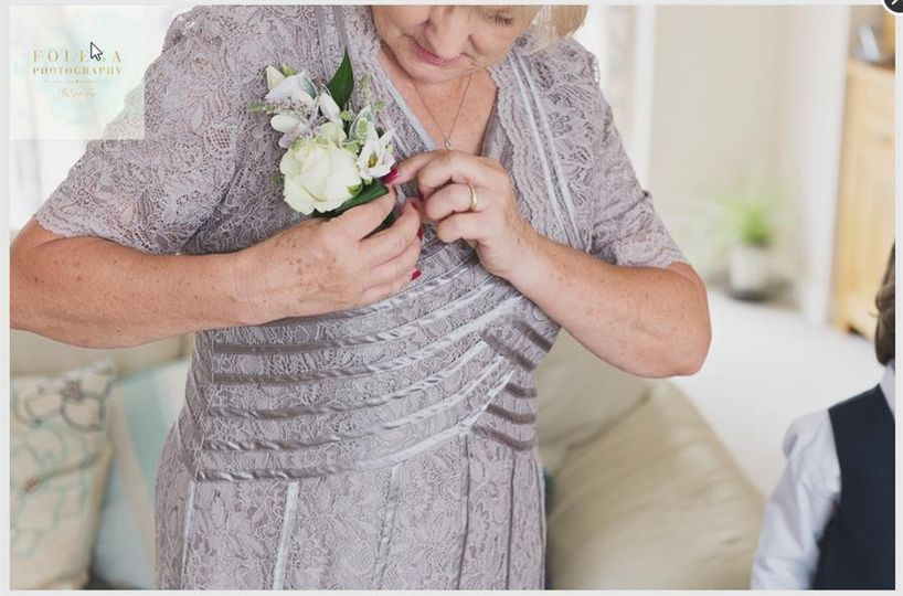 Mother of the Brides Corsage