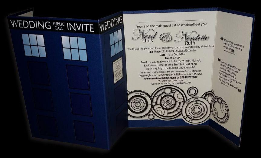 Gatefold Wedding Invites
