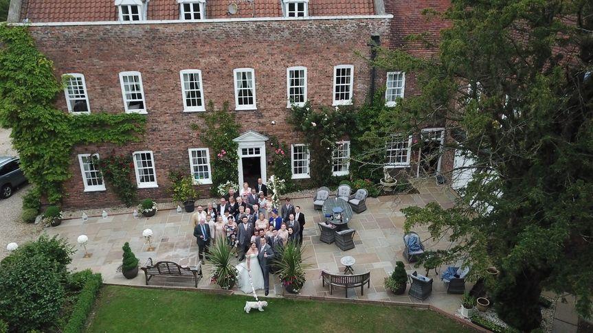 Bardney Hall wedding