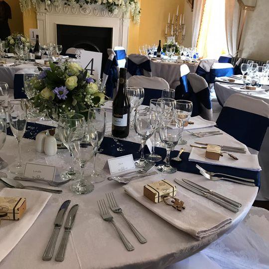 Bardney Hall dining room